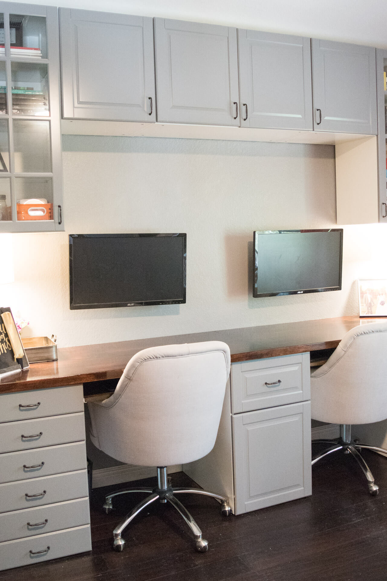 How To Make A Desk From Kitchen Cabinets Part Two Diy Without Fear