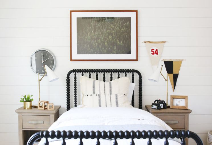 shiplap installed in a white room to illustrate the question are shiplap and beadboard the same thing and show off the differences