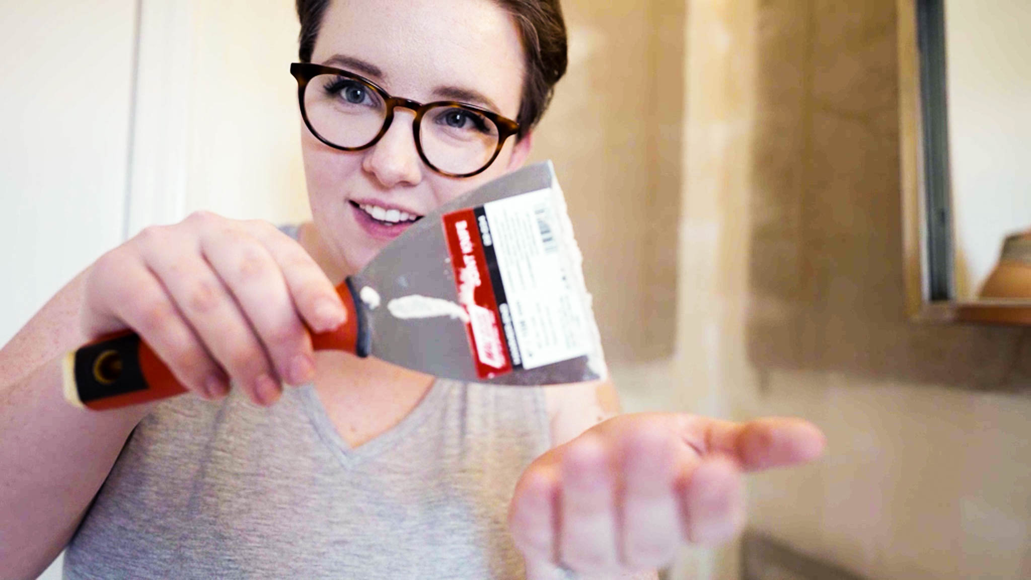 DIY Without Fear | 4 Ways To Naturally Remove Wallpaper Paste (Without Sanding)